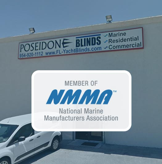Poseidon Interiors is a proud Member of NMMA, National Marine Manufacturers Association