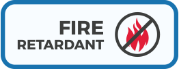Fire Retardant material icon